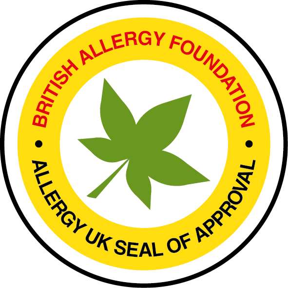 british allergy foundation seal of approval approved products