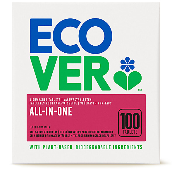 All In One Dishwasher Tablets - 100