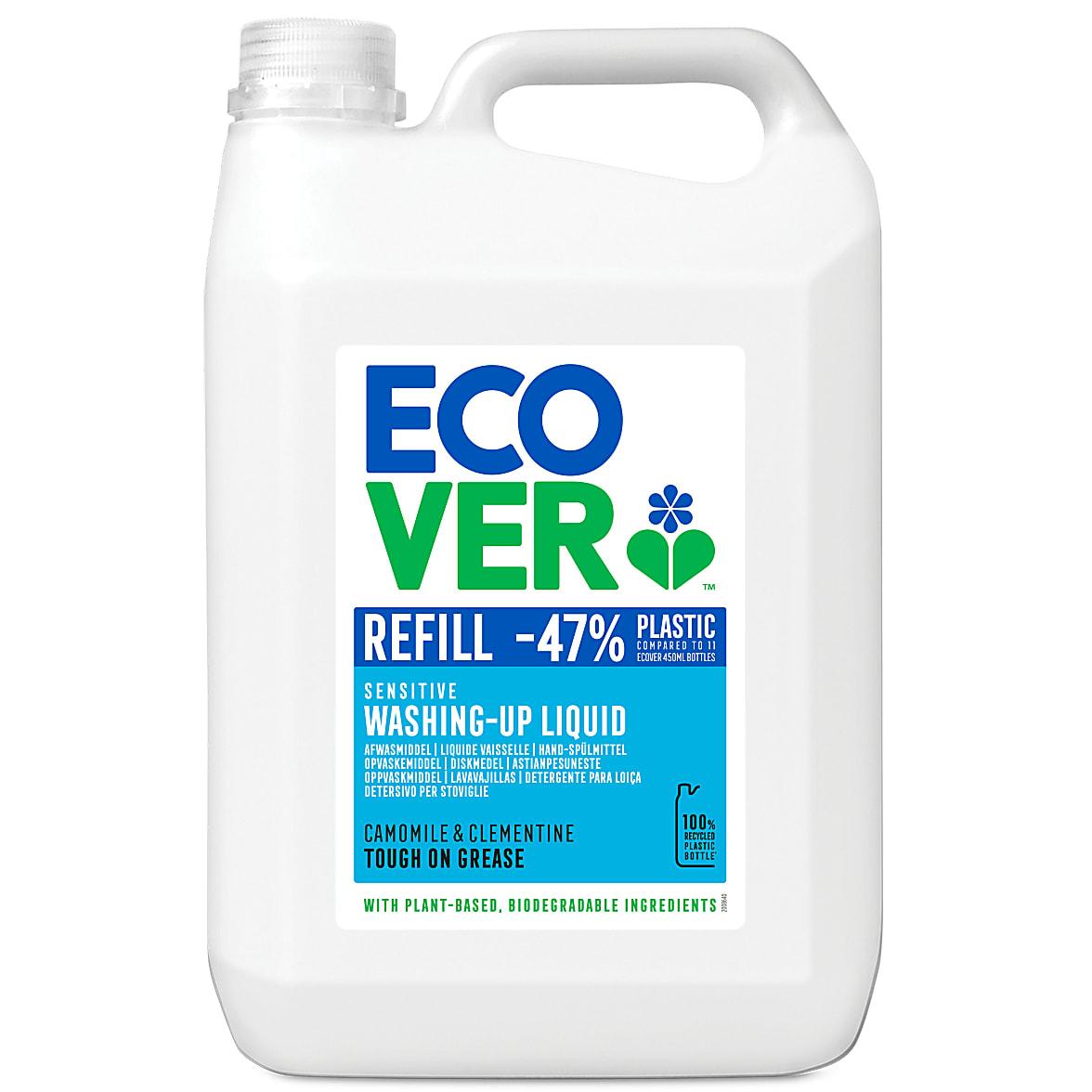 Ecover Eco Washing Up Liquid 5 Litre Camomile Marigold