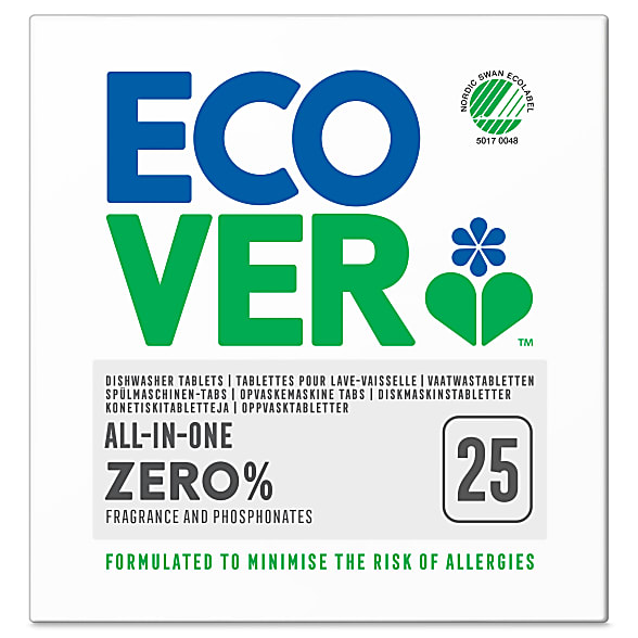 Zero all in one dishwasher tablets - 25