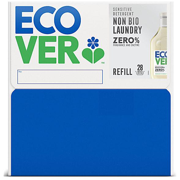 zero non bio laundry liquid refill box 15L