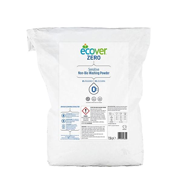 Zero non bio washing powder refill 7.5kg